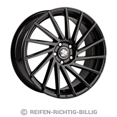 4 x alufelge ultra wheels storm ua9 8 5x19 et45 black ebay. Black Bedroom Furniture Sets. Home Design Ideas
