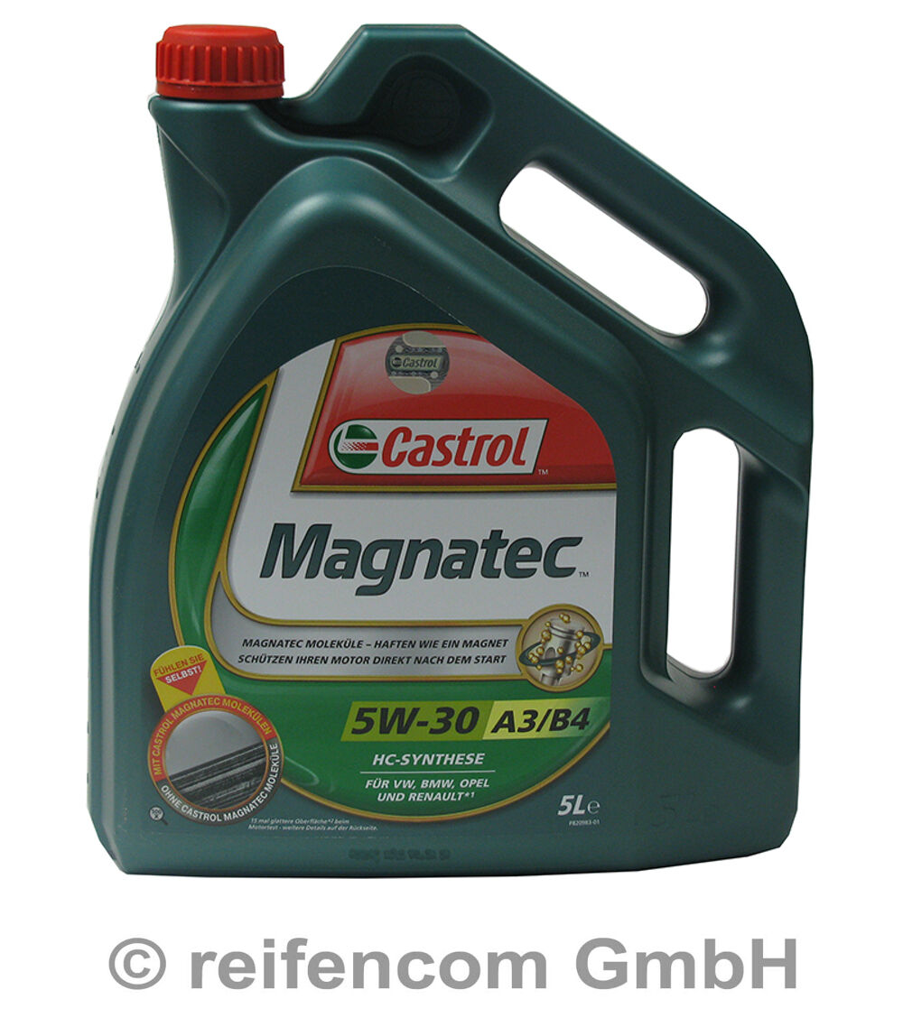motor l castrol magnatec a3 b4 5w 30 5 liter 5l ebay. Black Bedroom Furniture Sets. Home Design Ideas