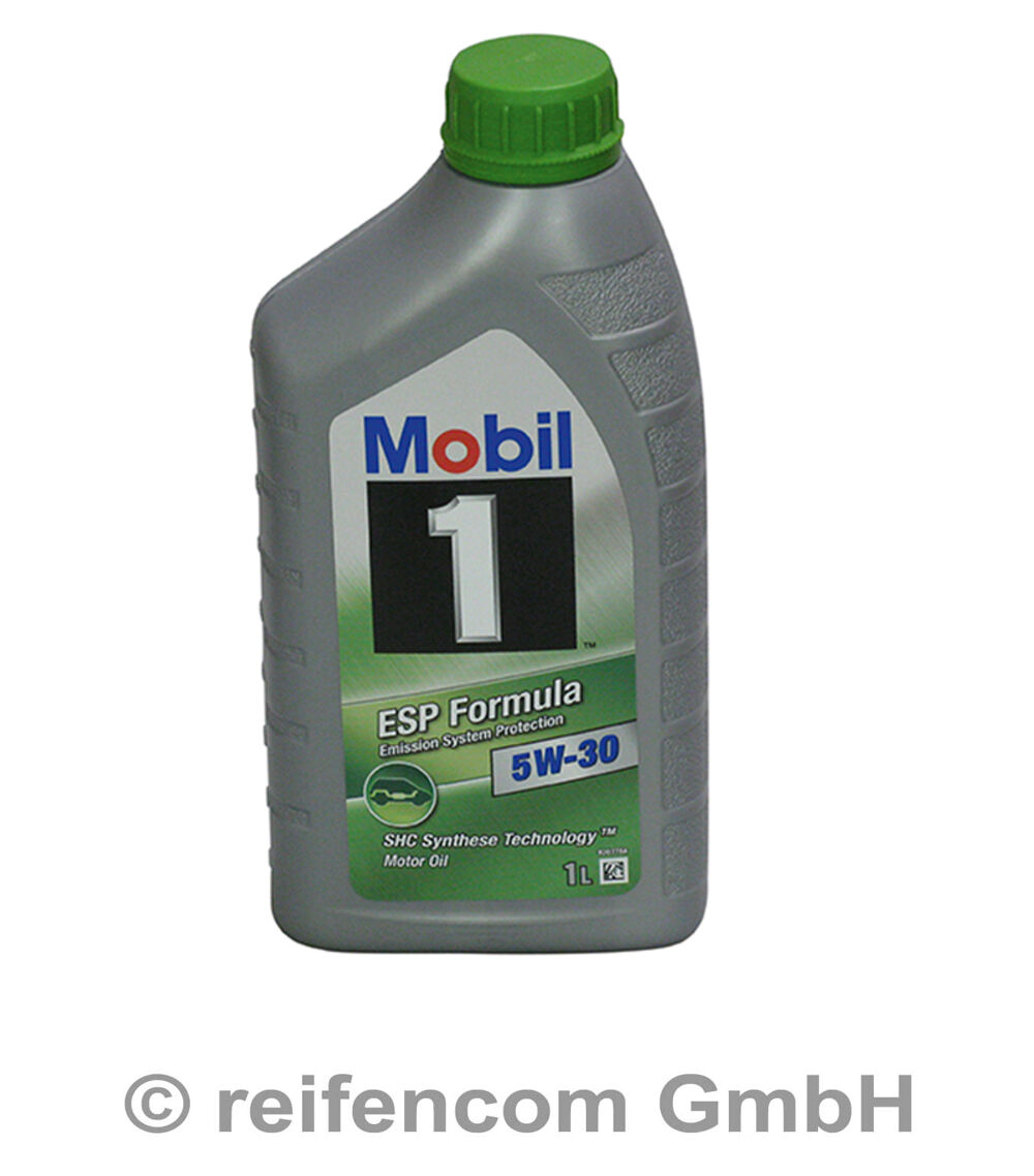 motor l mobil 1 esp formula 5w 30 1 liter 1l ebay. Black Bedroom Furniture Sets. Home Design Ideas
