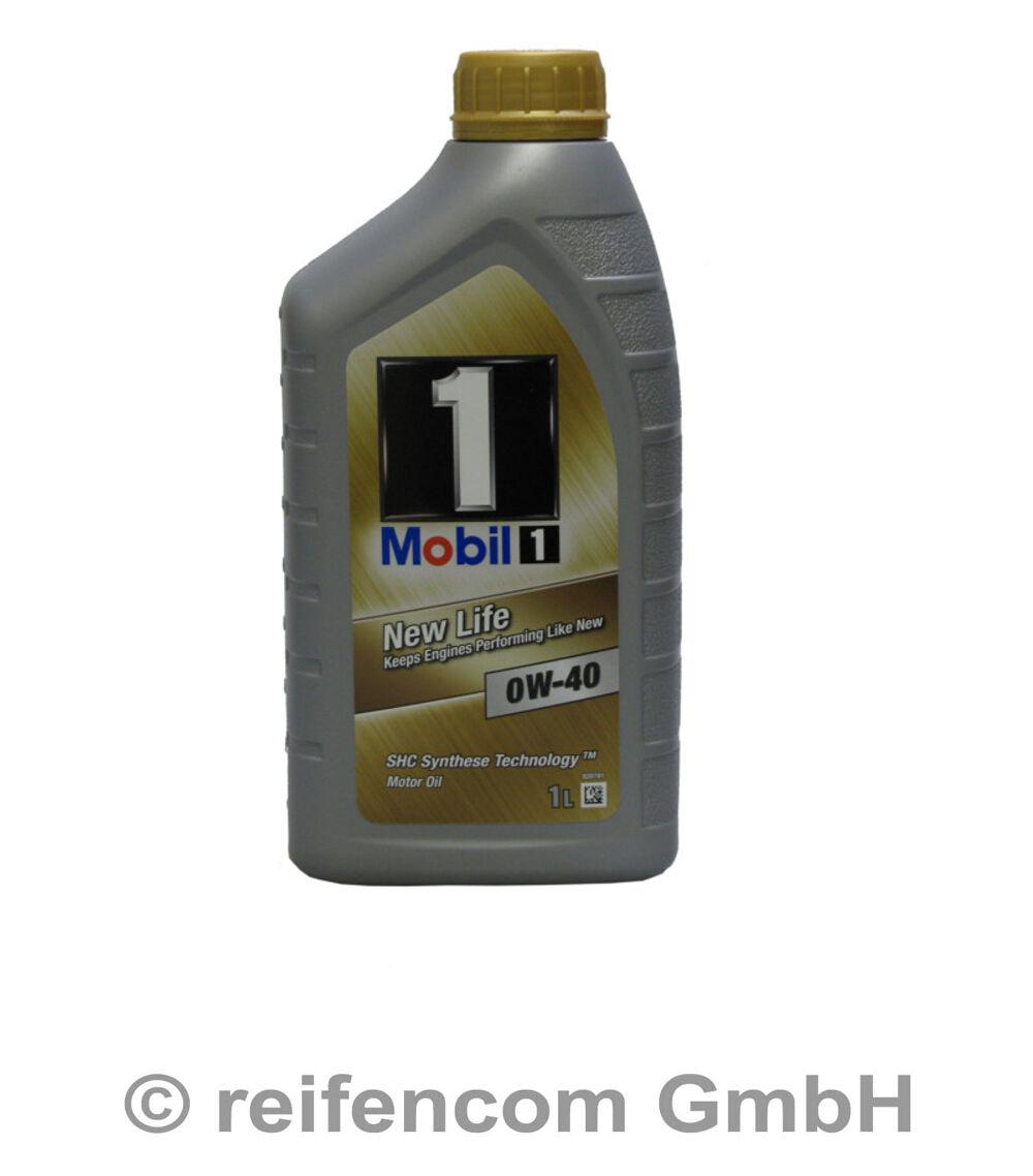 motor l mobil 1 new life 0w 40 1 liter 1l ebay. Black Bedroom Furniture Sets. Home Design Ideas