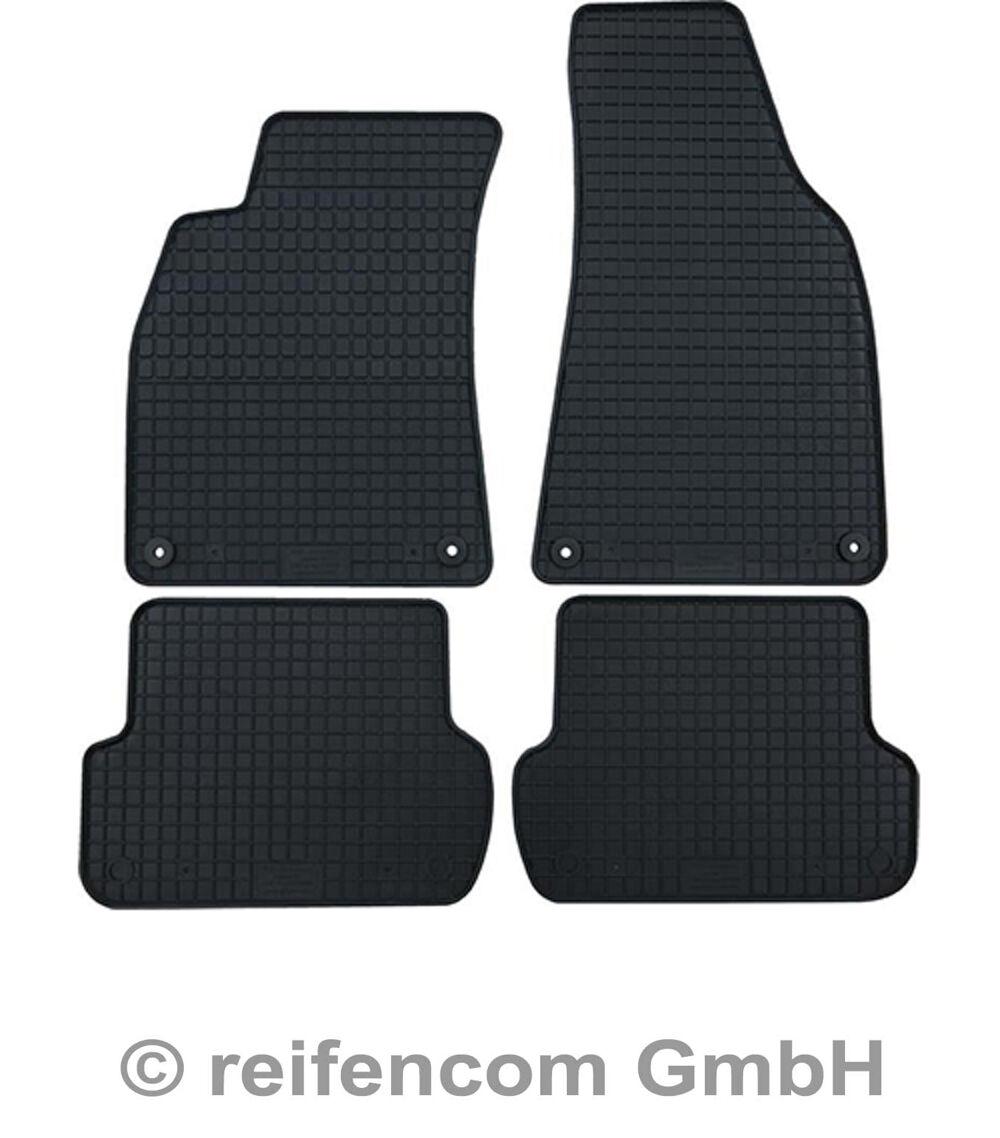 A7 C7 ab 2011 Gummimatten Fußmatten Gummi für Audi A6