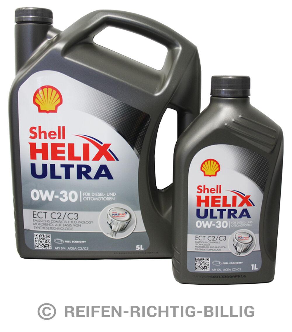 shell helix ultra ect c2 c3 0w 30 6 liter 5l 1l 6l. Black Bedroom Furniture Sets. Home Design Ideas