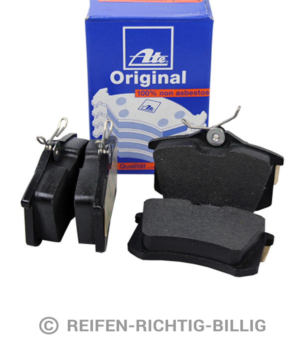 Original ATE Bremsbelag Satz Bremsklötze Hinterachse Mercedes Benz A Klasse