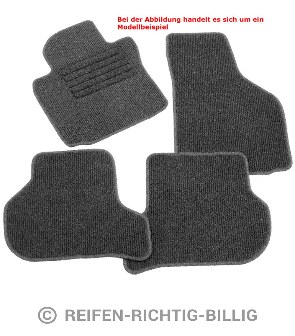 Velours Fußmatten VW Passat ab Bj 10//1996 bis 11//1999 Auto Teppiche mit Logo