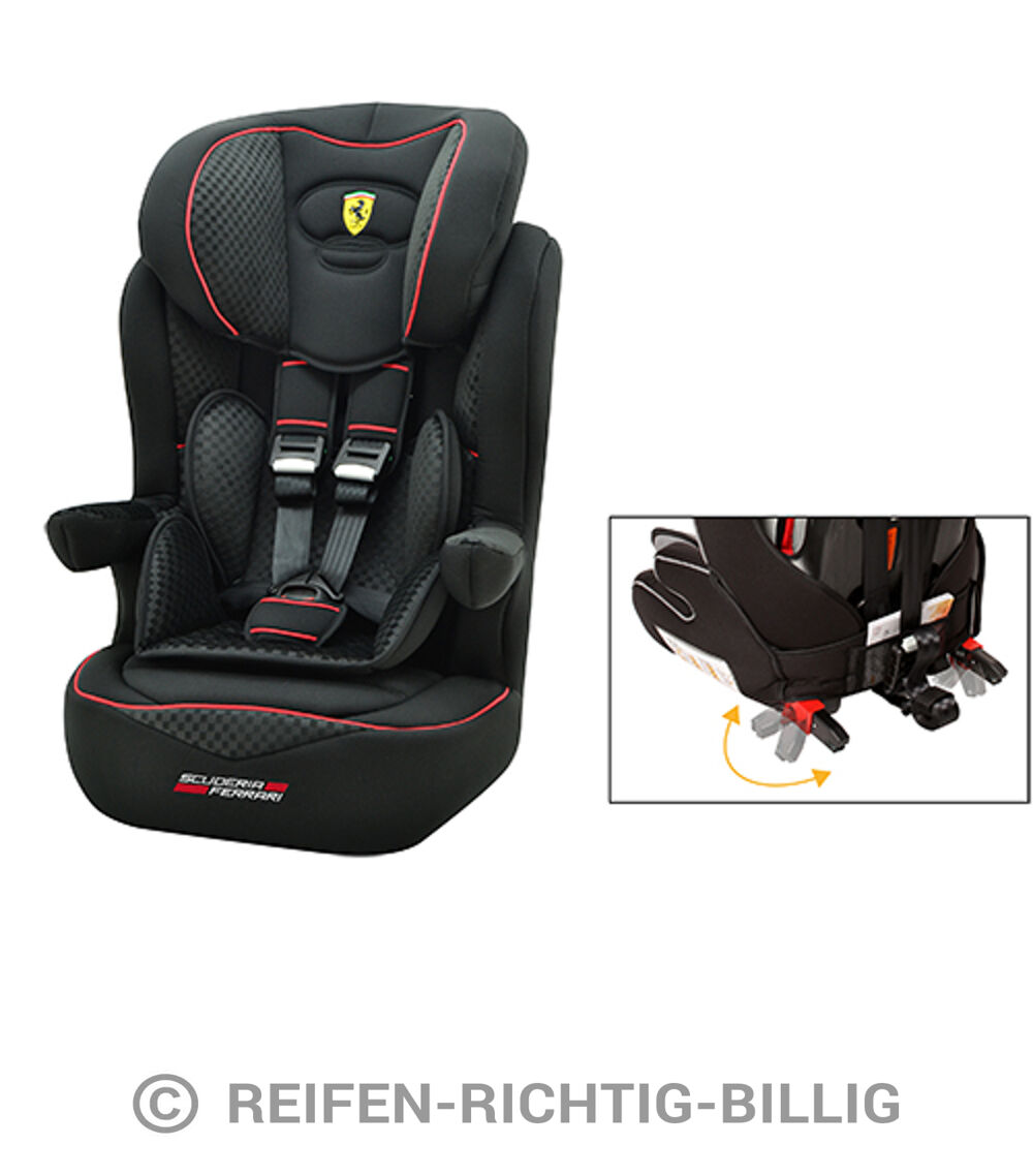 osann autokindersitz i max sp isofix ferrari black gran. Black Bedroom Furniture Sets. Home Design Ideas