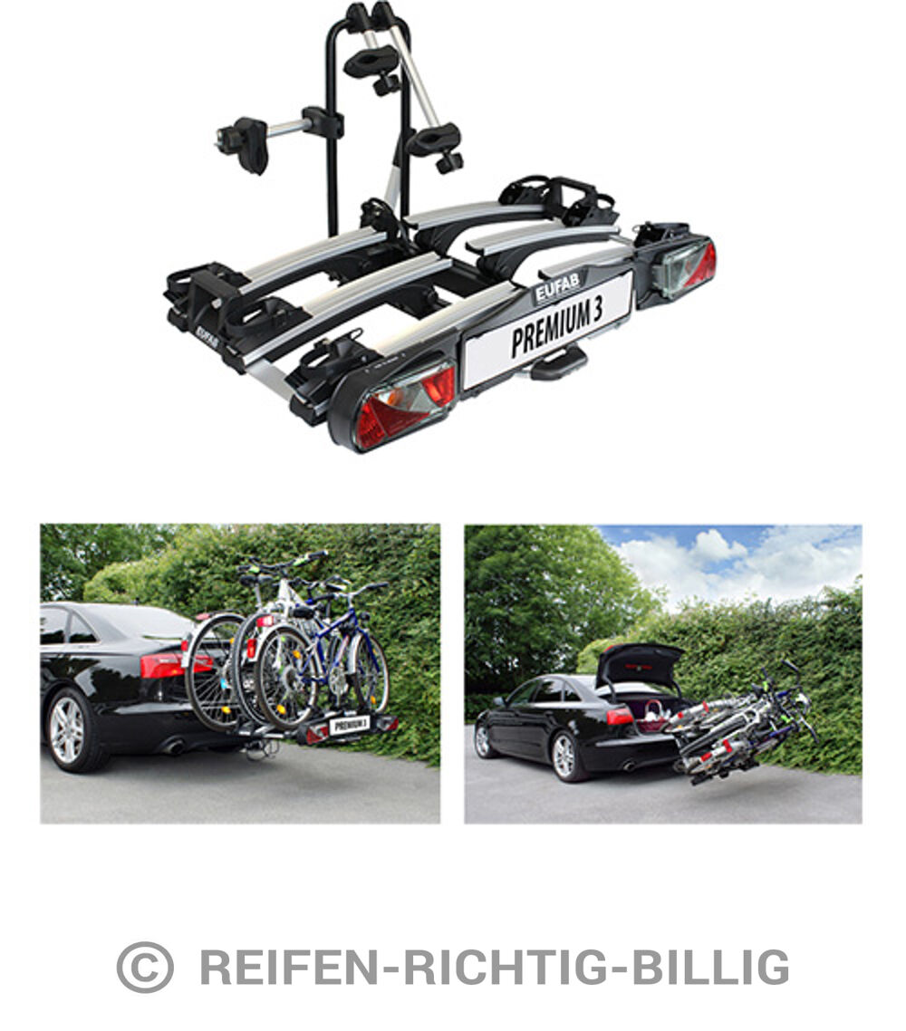 eufab fahrradhecktr ger premium iii f r anh ngekupplung. Black Bedroom Furniture Sets. Home Design Ideas
