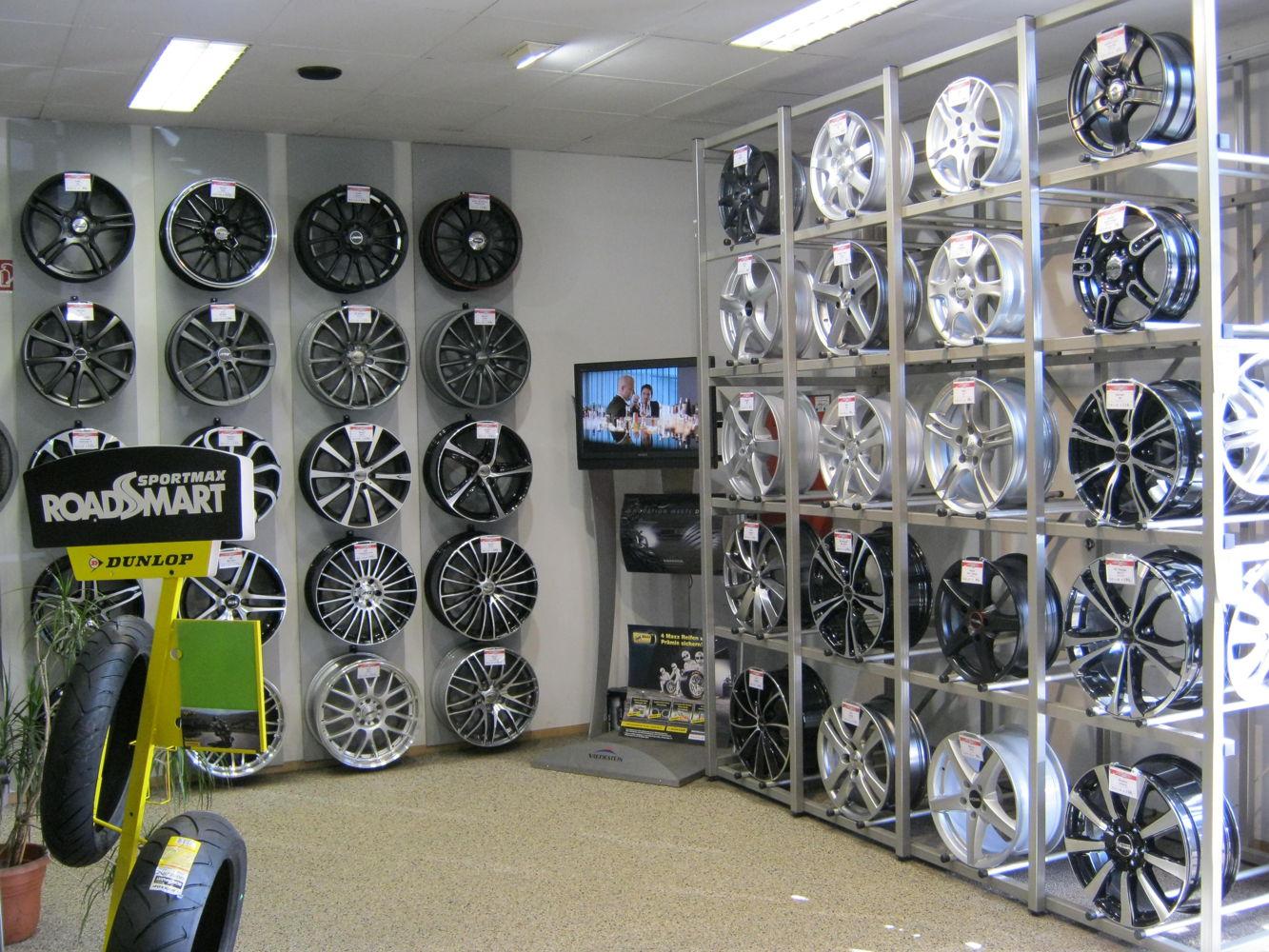 Rims showroom