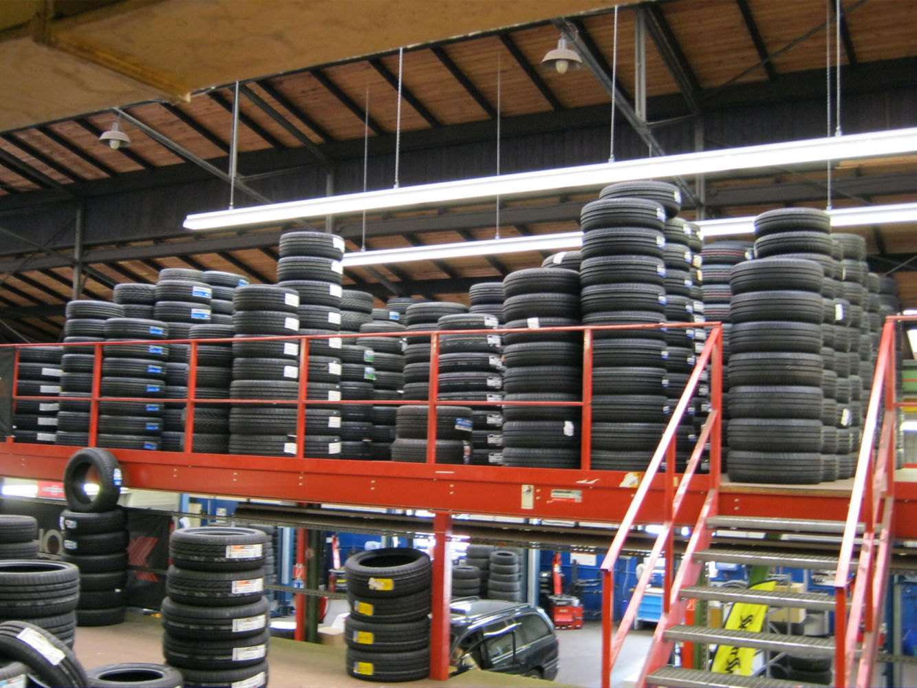 Tyre stock