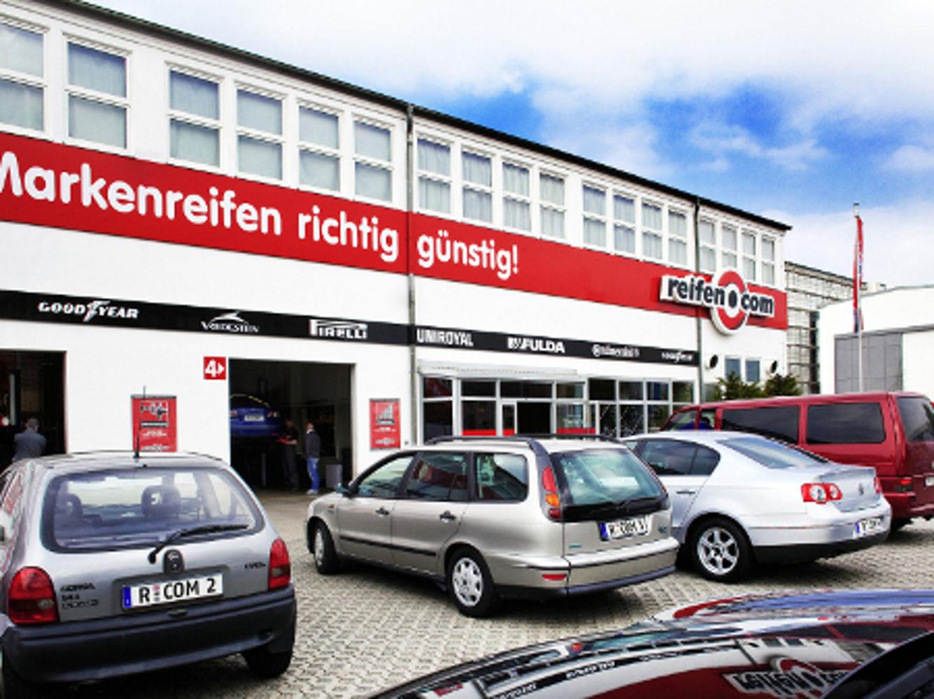 reifen.com-Filiale in Dresden