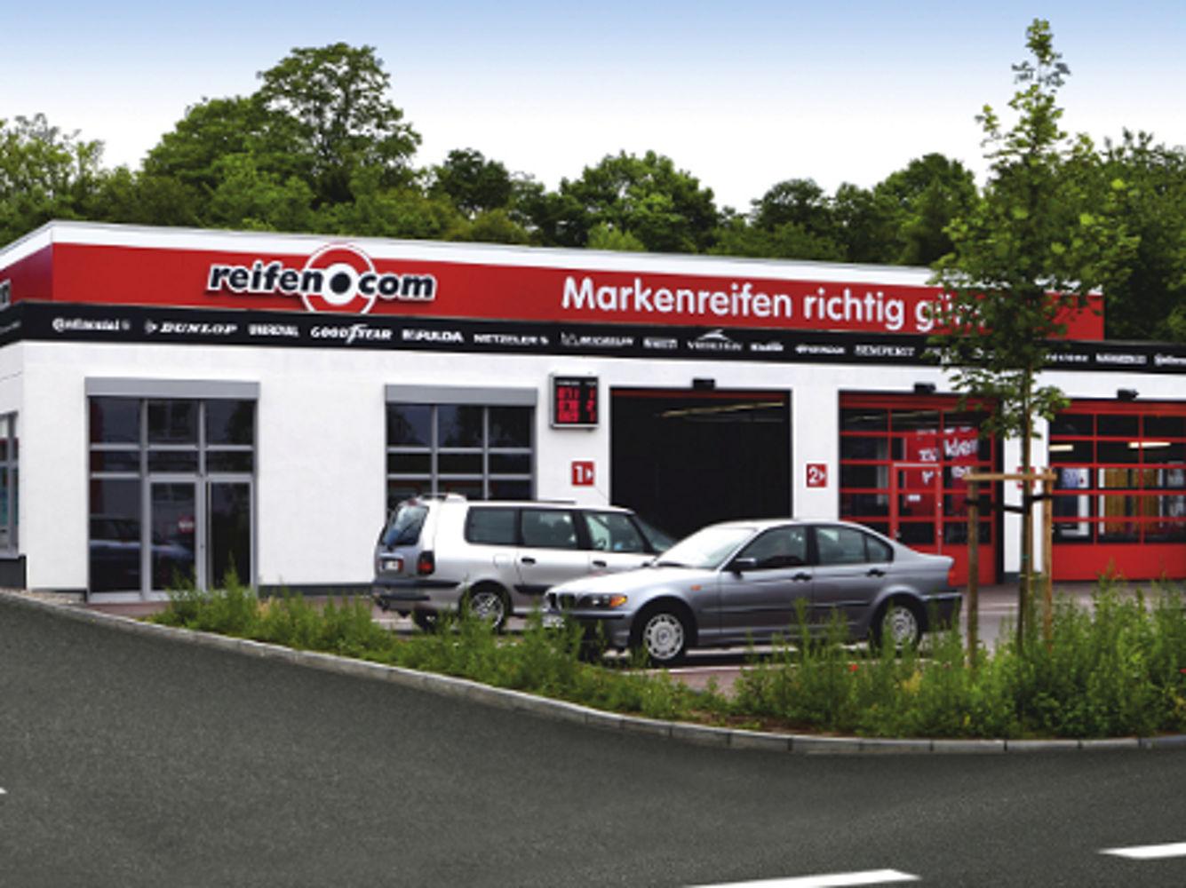 reifen.com-Filiale in Bonn