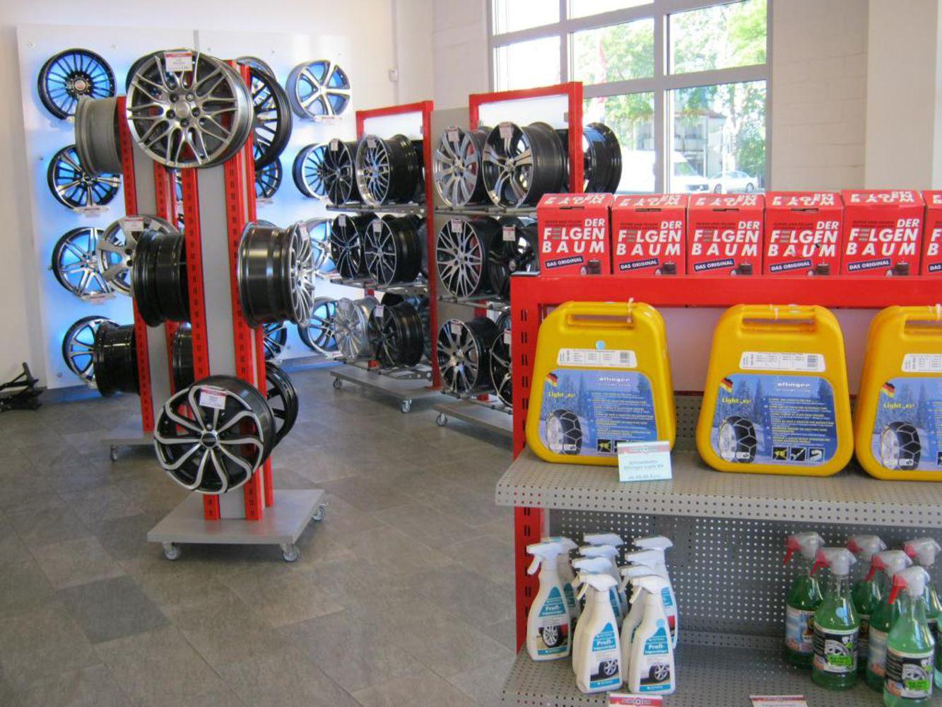 Salesroom and rim exhibition