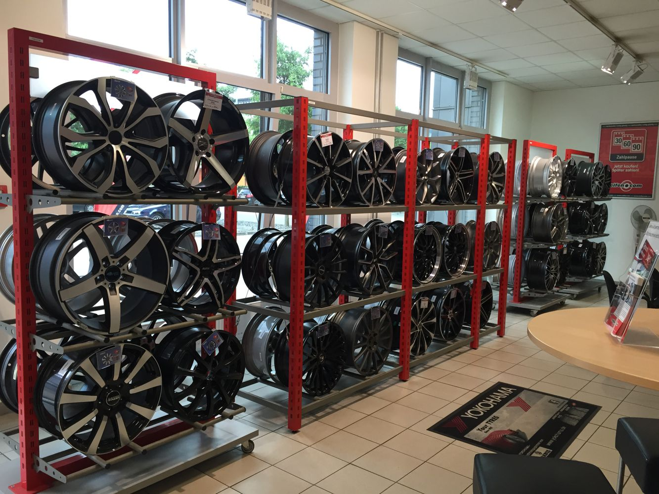 Rims showroom