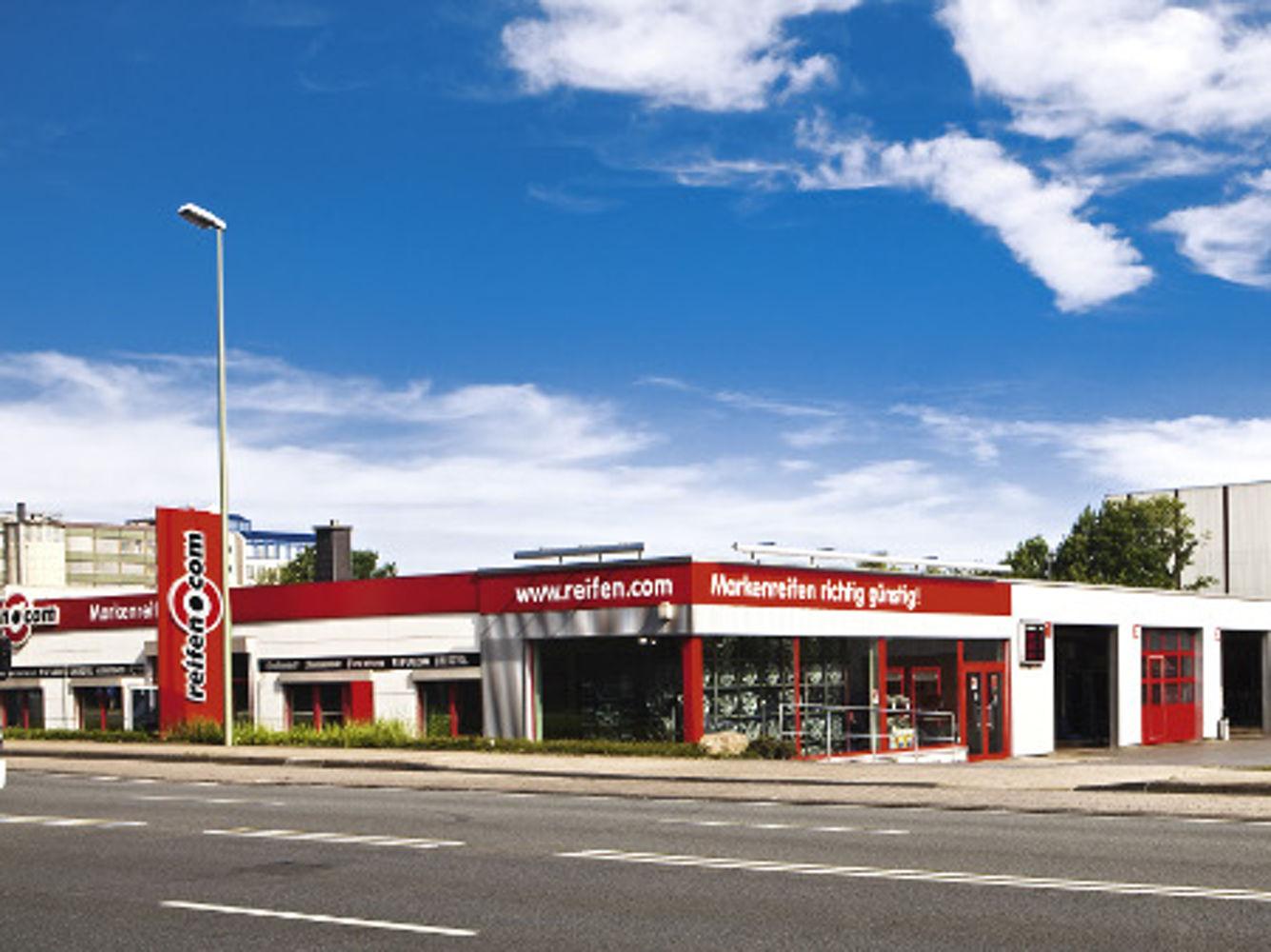 reifen.com-Filiale in Bielefeld