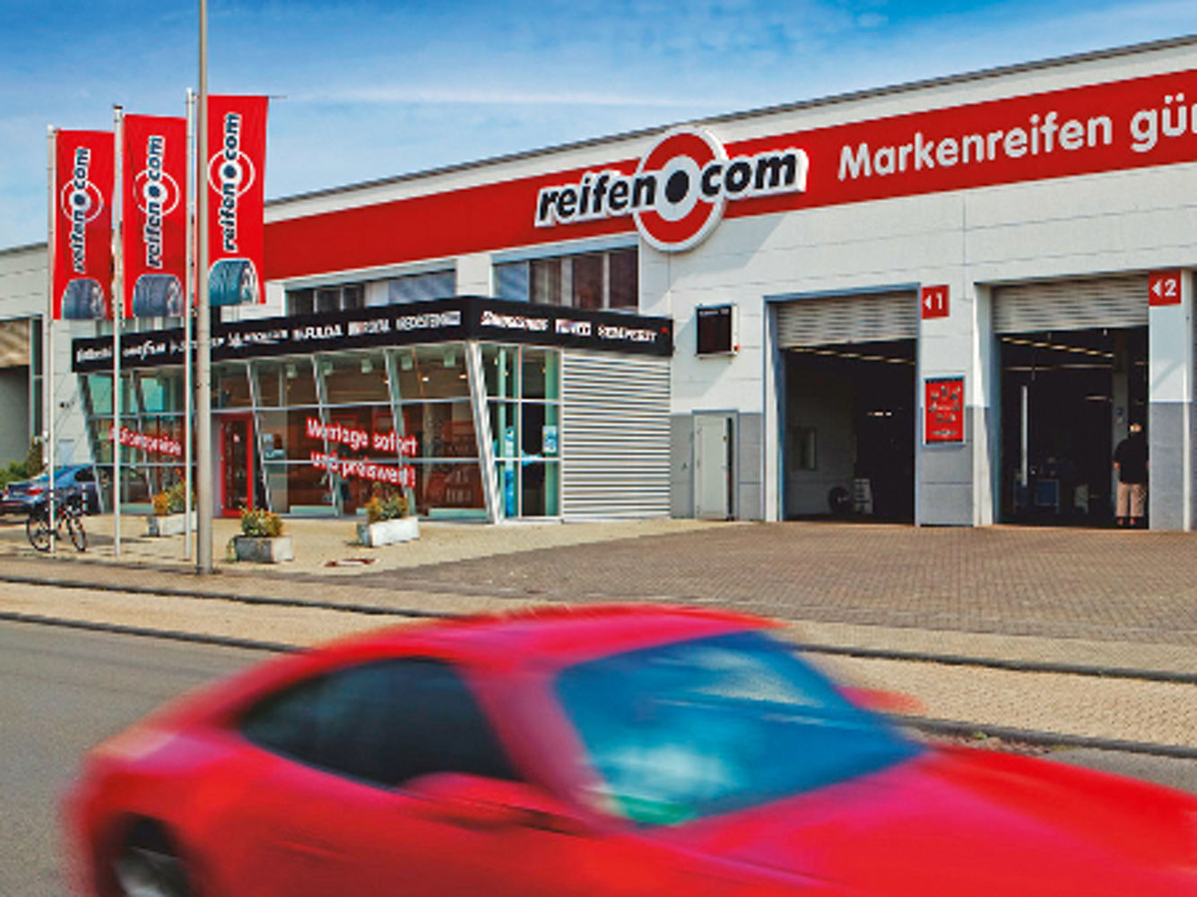 reifen.com-Filiale in Köln Hahnwald