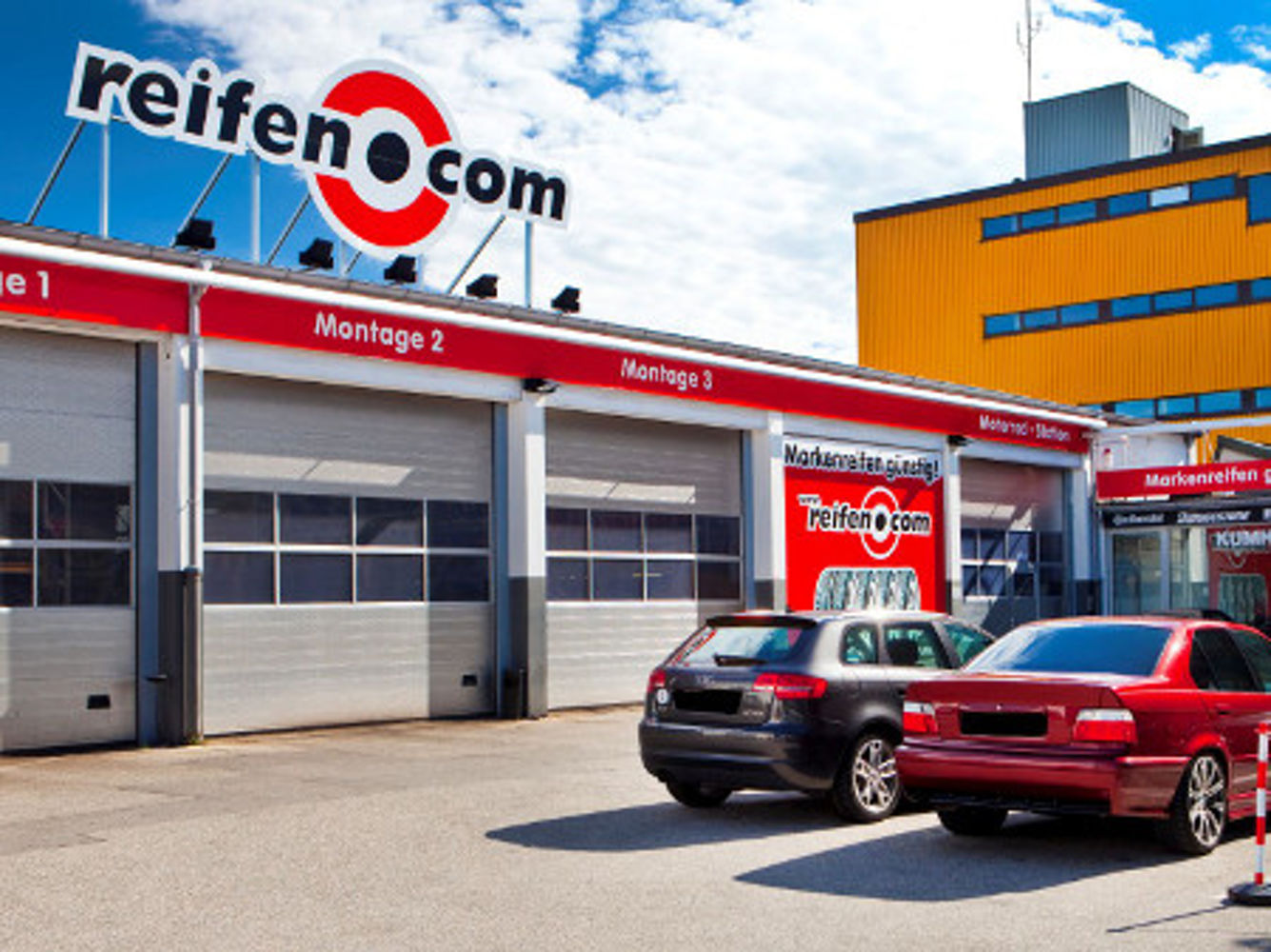 reifen.com-Filiale in München Milbertshofen-Am Hart