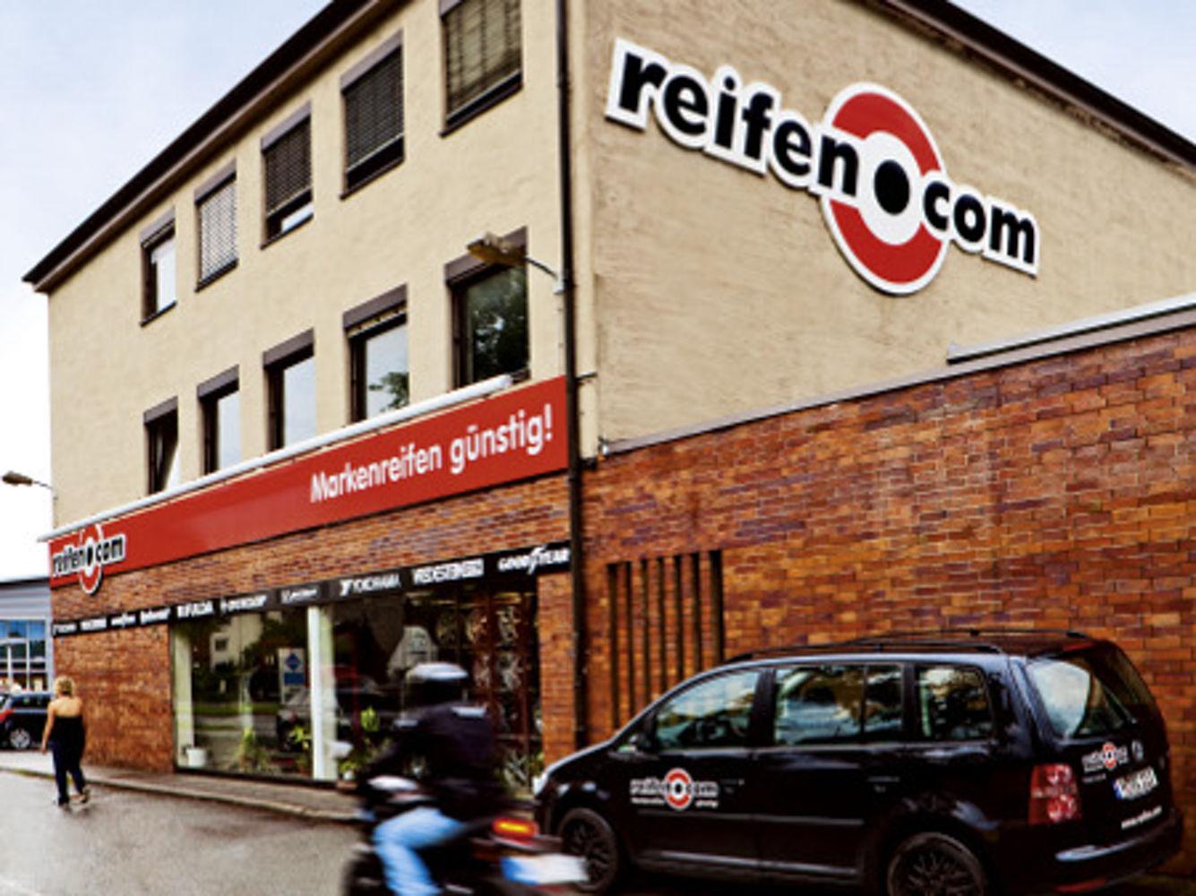 reifen.com-Filiale in Nürnberg Langwasser
