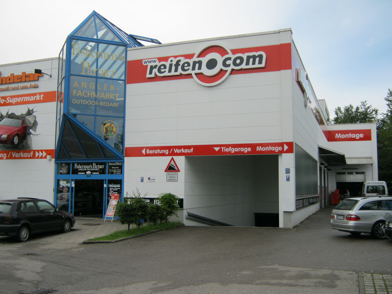 reifen.com-Filiale in München Aubing