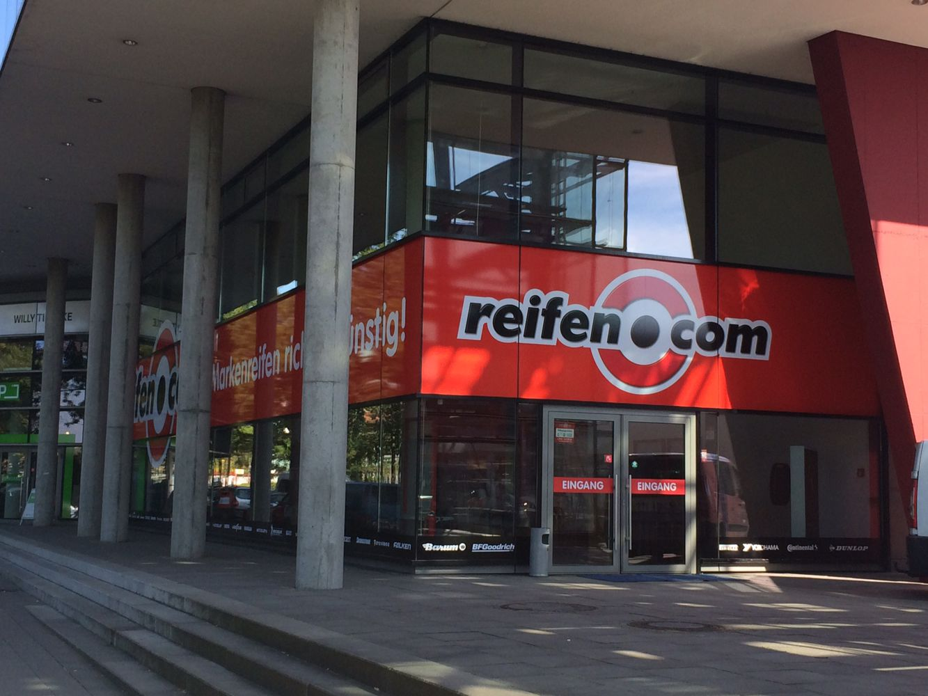 reifen.com-Filiale Hamburg Wandsbek
