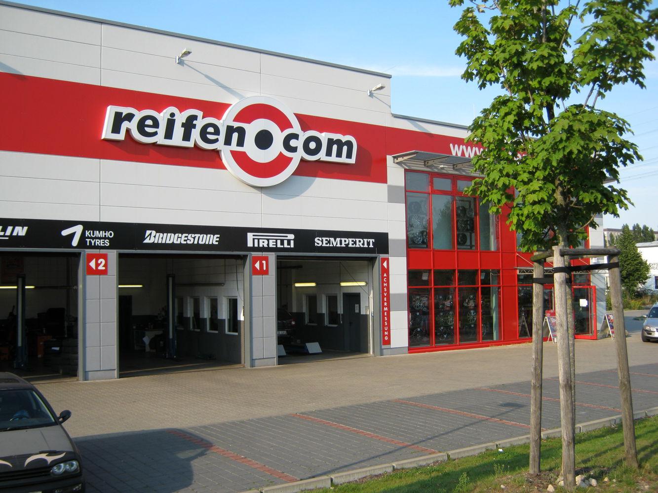 reifen.com-Filiale in Berlin Marzahn
