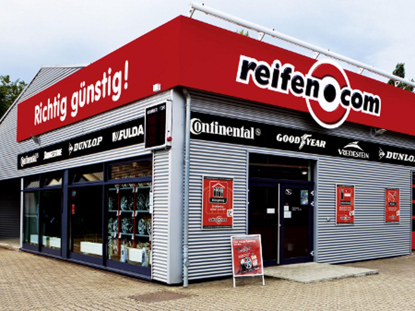 reifen.com-Filiale in Duisburg
