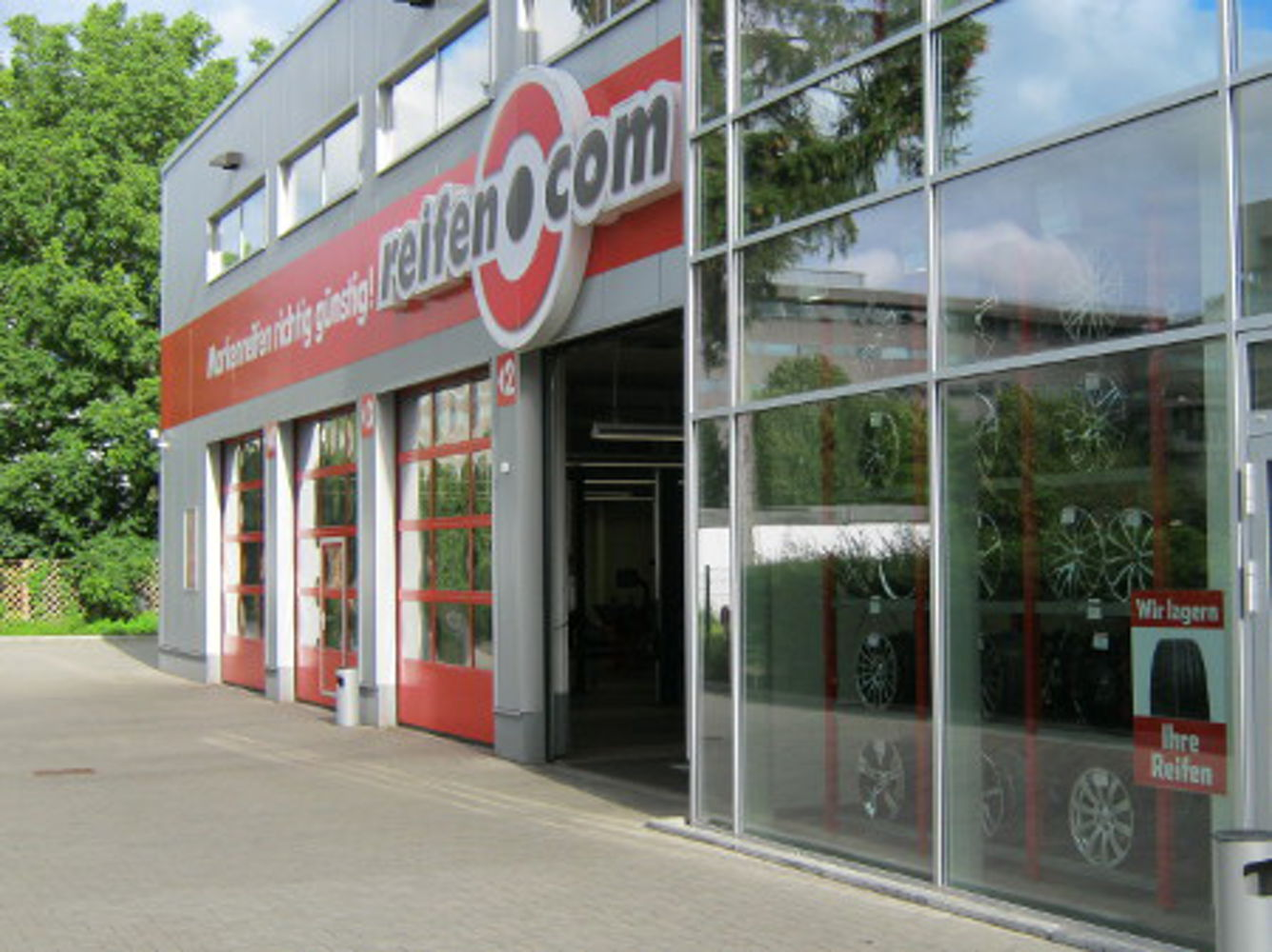 reifen.com-branch in Hamburg Bramfeld