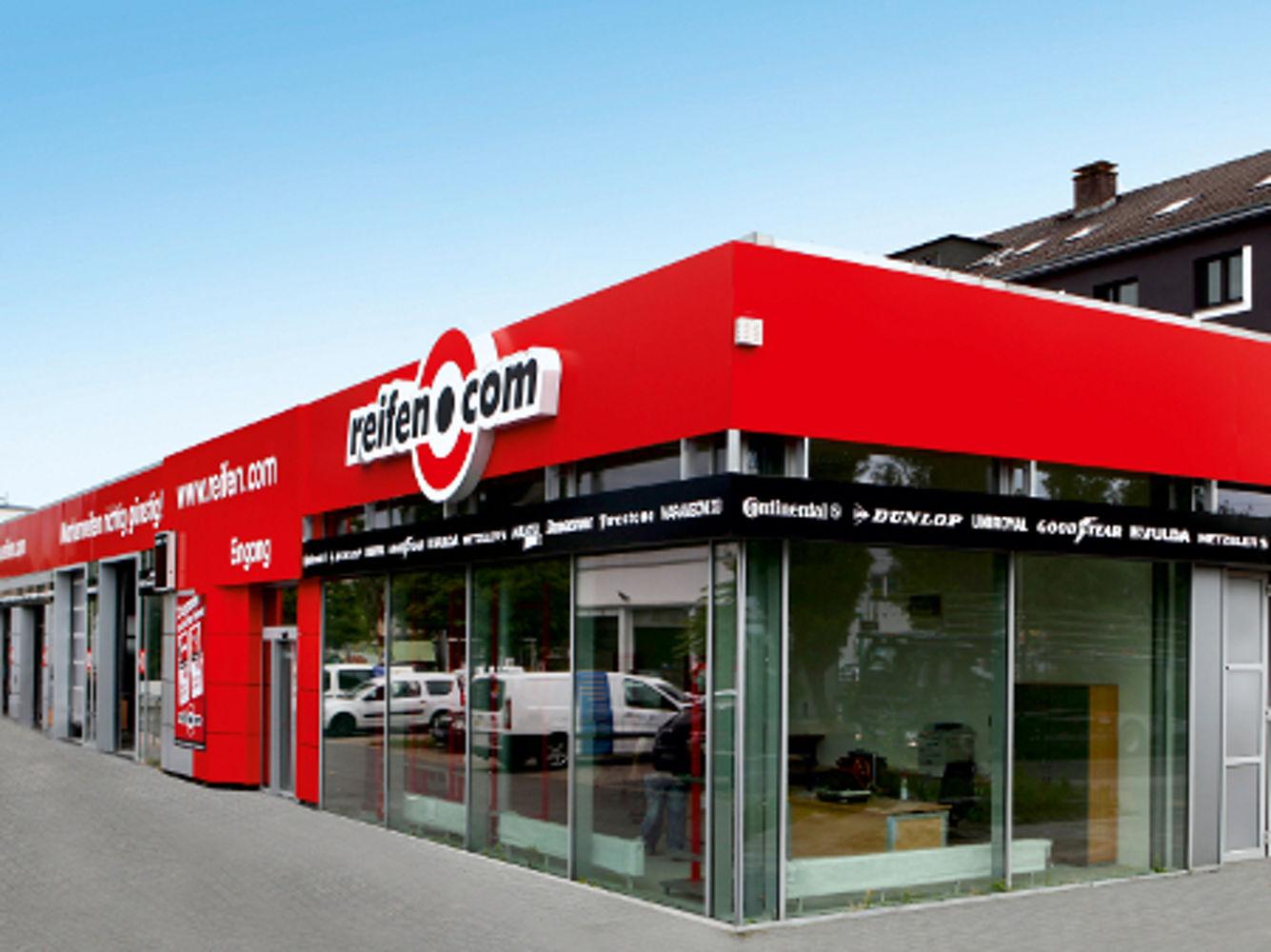 reifen.com-Filiale in Frankfurt Fechenheim