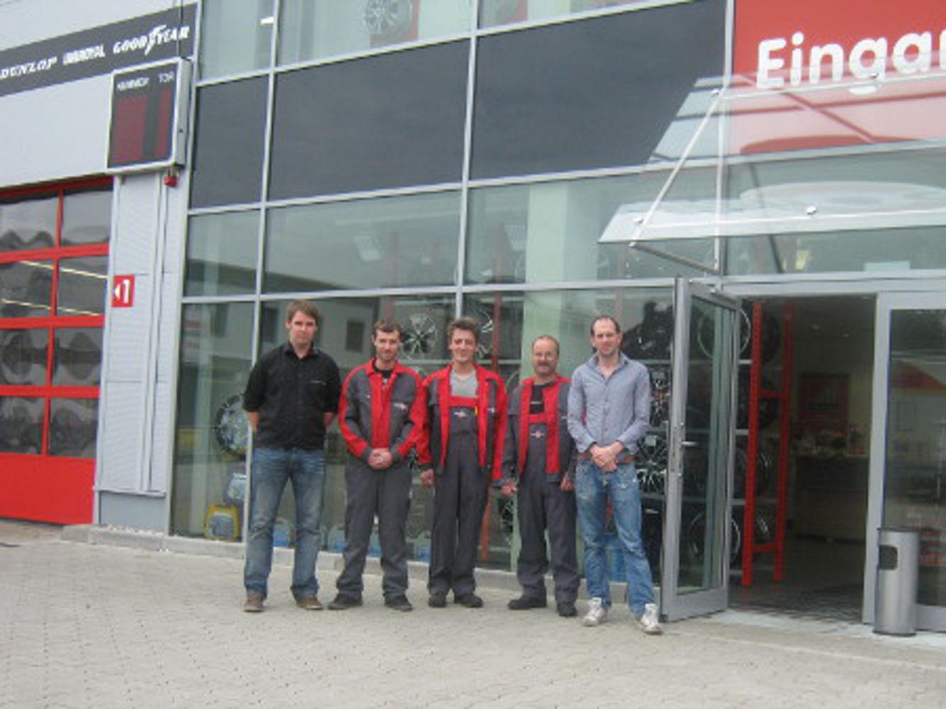 Our reifen.com-team in Mülheim an der Ruhr