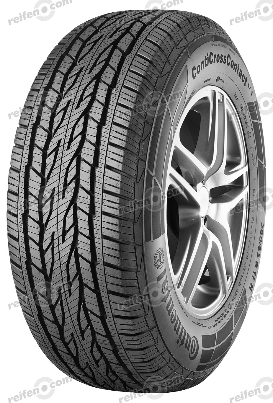 225/65 R17 102H CrossContact LX 2 FR BSW  CrossContact LX 2 FR BSW