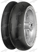 Continental 120/70 ZR17 58W ContiRaceAttack 2 Soft M/C Front